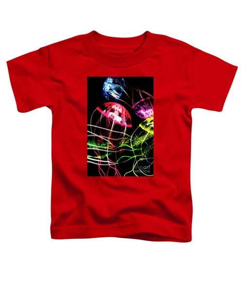 Jelly Fish Trails Toddler T-Shirt