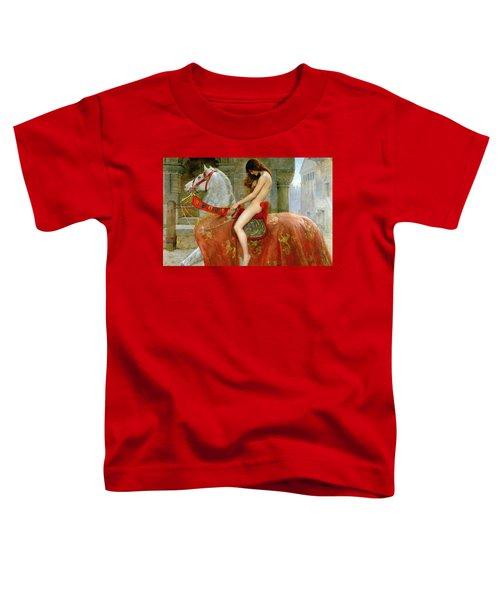 Lady Godiva Toddler T-Shirt