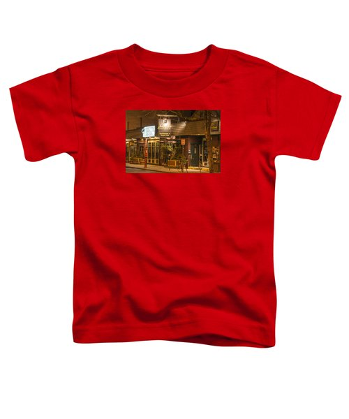 Johnny Ds Music Club In Davis Square Somerville Ma Toddler T-Shirt