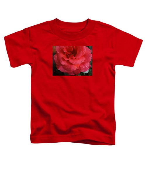 Toddler T-Shirt featuring the photograph June  Rose  by Colette V Hera  Guggenheim