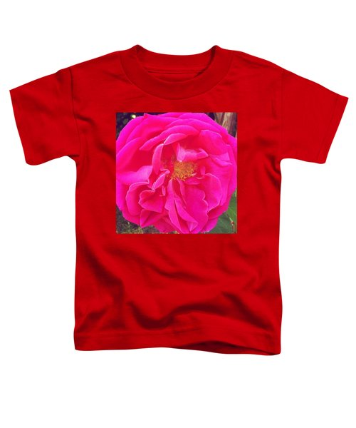 Just A Rose...#floral #flowers #pink Toddler T-Shirt