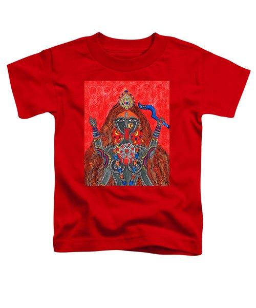 Kaali- The Fierce Form Toddler T-Shirt