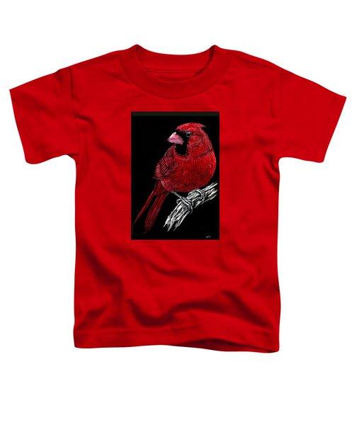 Kentucky Cardinal Toddler T-Shirt