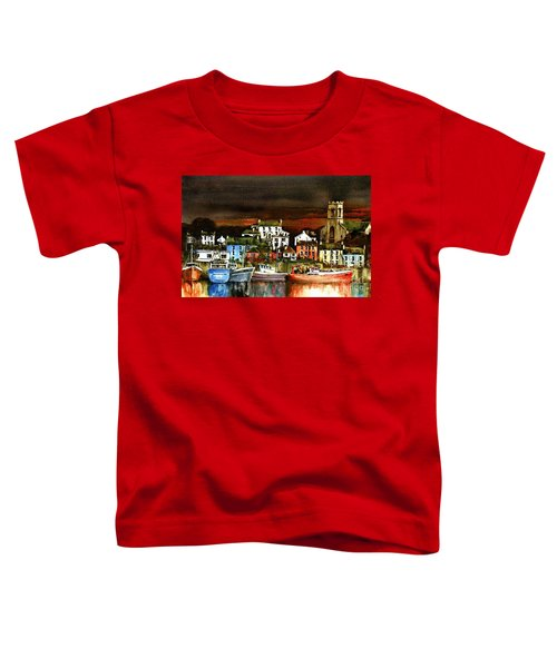 Killybegs Harbour, Donegal. Toddler T-Shirt