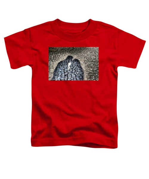 Kiss Me On The Cobblestone Toddler T-Shirt by Dora Hathazi Mendes