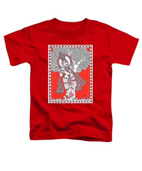 Krishna N Flute Toddler T-Shirt