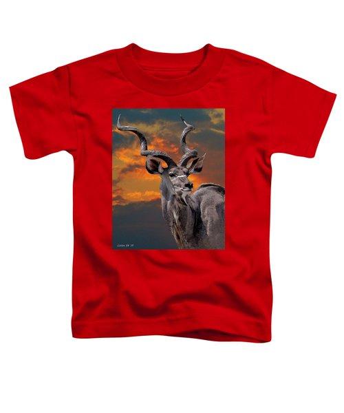 Kudu At Sunset Toddler T-Shirt