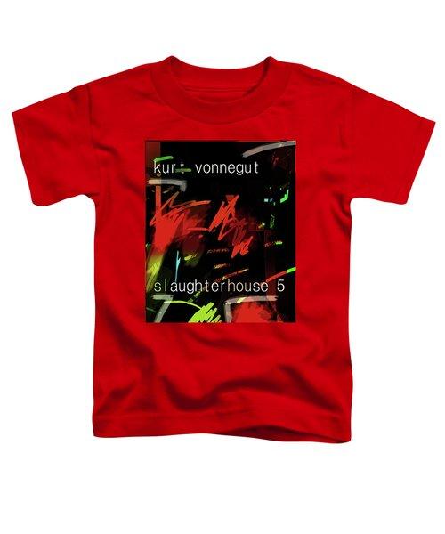 Kurt Vonnegut Poster  Toddler T-Shirt