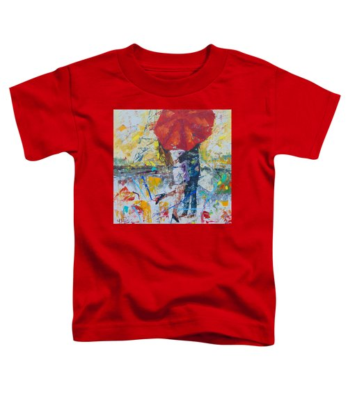 L'amour A Paris Toddler T-Shirt