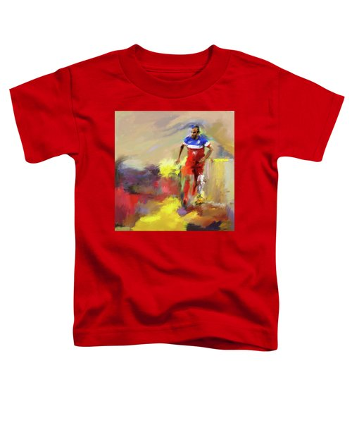 Landon Donovan 545 1 Toddler T-Shirt by Mawra Tahreem