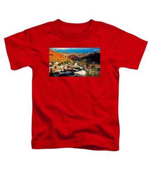 Lavender Pit In Historic Bisbee Arizona  Toddler T-Shirt