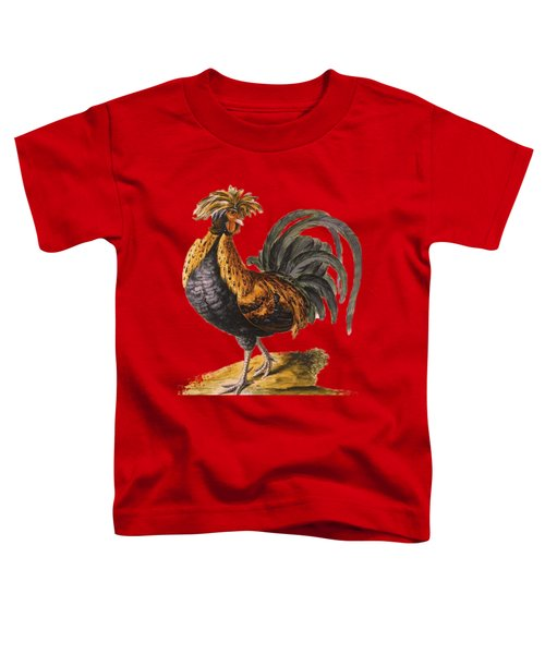 Le Coq Rooster T Shirt Design Toddler T-Shirt by Bellesouth Studio