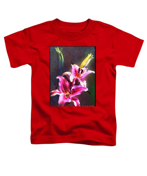 Lilies At Night Toddler T-Shirt