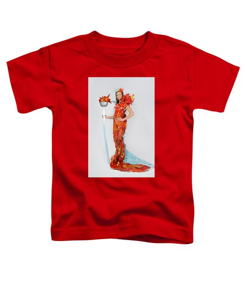 Lily In Fire And Ice Queen Toddler T-Shirt