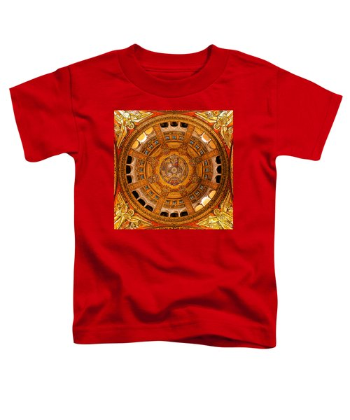 Lisieux St Therese Basilica Dome Ceiling Toddler T-Shirt