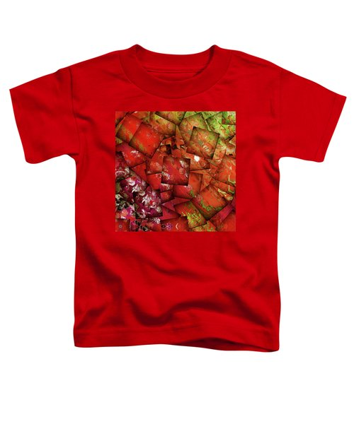 Live A Beautiful Life Contemporary Abstract Art Toddler T-Shirt