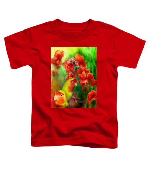 Love Among The Poppies Toddler T-Shirt