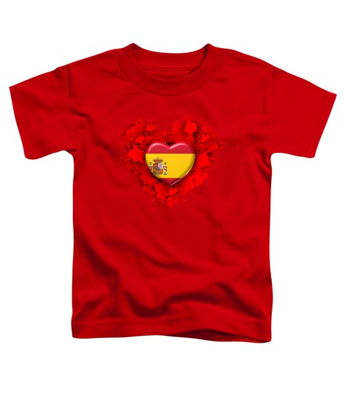 Love Spain Toddler T-Shirt