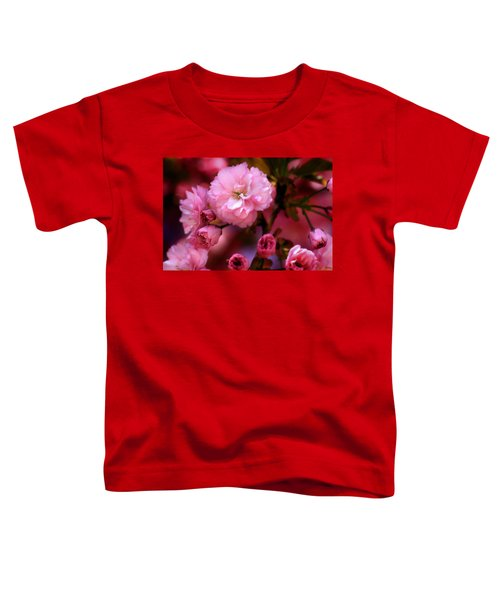 Lovely Spring Pink Cherry Blossoms Toddler T-Shirt