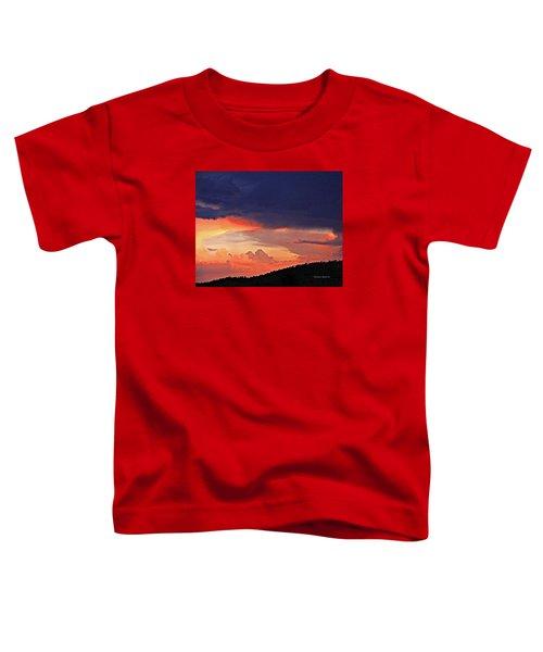 Mazatzal Peak Sunset Toddler T-Shirt