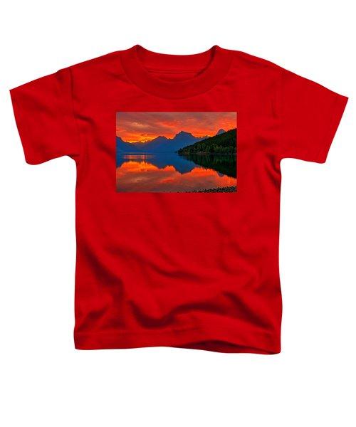 Mcdonald Sunrise Toddler T-Shirt