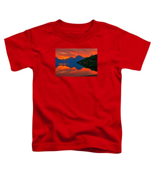 Toddler T-Shirt featuring the photograph Mcdonald Sunrise by Greg Norrell