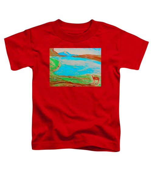 Medicine Lake Toddler T-Shirt