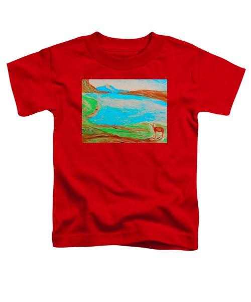 Medicine Lake Toddler T-Shirt