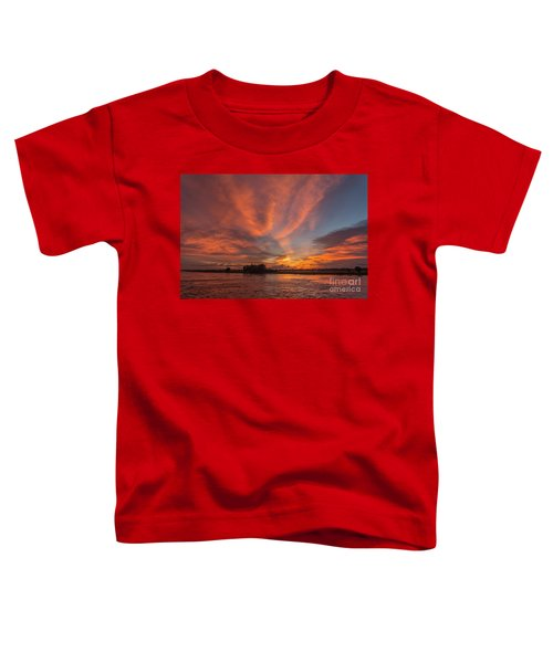Toddler T-Shirt featuring the photograph Mekong Sunset 3 by Werner Padarin