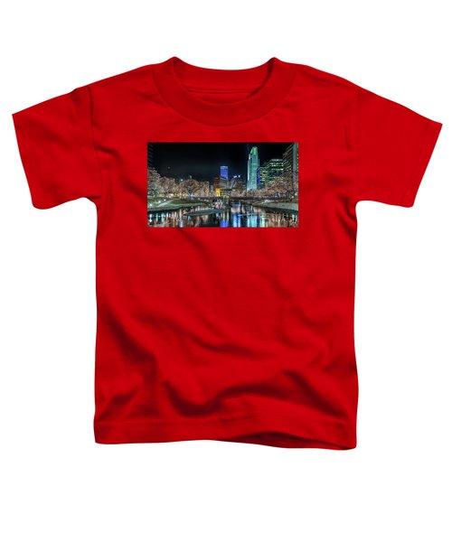 Merry Christmas Omaha Toddler T-Shirt