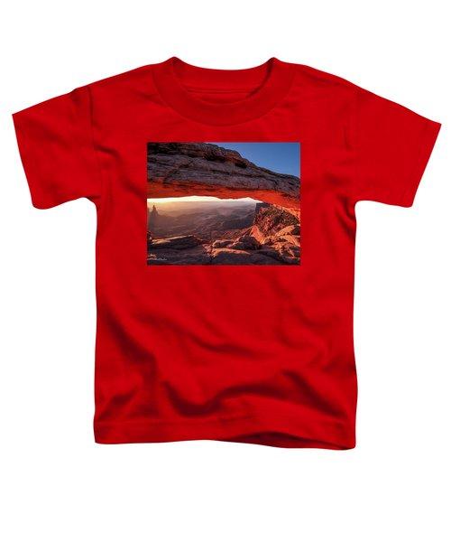 Mesa Arch At Sunrise 2, Canyonlands National Park, Utah Toddler T-Shirt