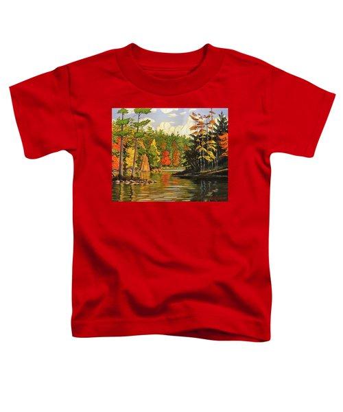 Mink Lake Narrows Toddler T-Shirt