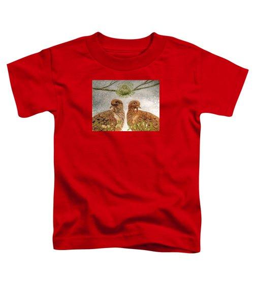 Mistletoe Magic Toddler T-Shirt