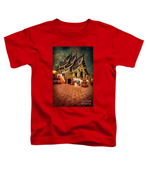 Monthian Temple Chiang Mai  Toddler T-Shirt