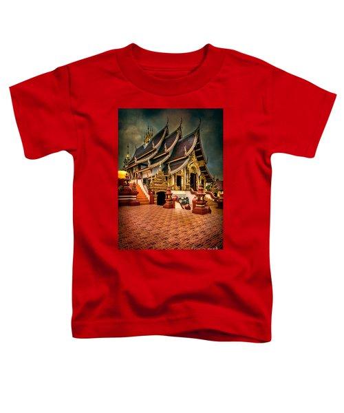 Monthian Temple Chiang Mai  Toddler T-Shirt