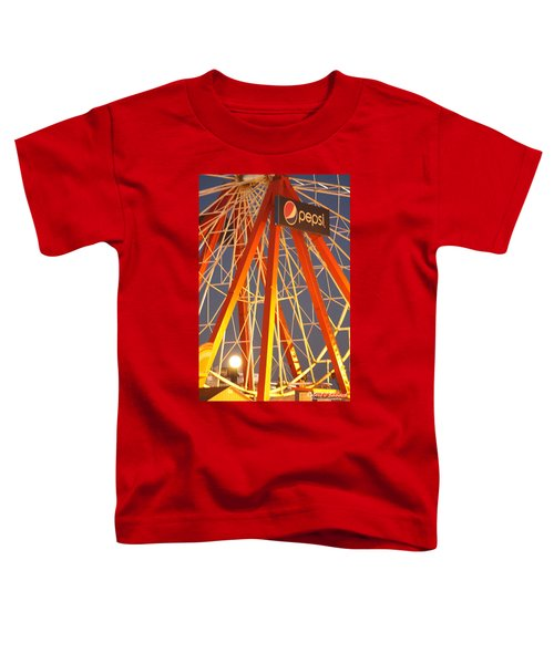 Moon And The Ferris Wheel Toddler T-Shirt