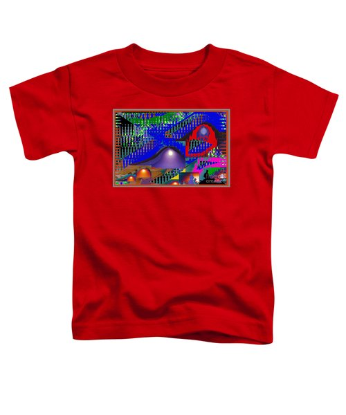 Moon Reflections On Mountains Abstract Graphic Paint Download For Personal N Commercial Projects Fun Toddler T-Shirt by Navin Joshi
