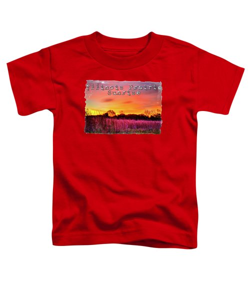 Moraine Hills At Sunrise Toddler T-Shirt