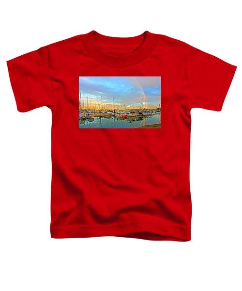 Morton Bay Rainbow Toddler T-Shirt