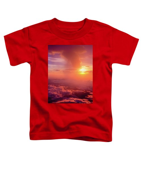 Mountain View Toddler T-Shirt by Tatsuya Atarashi