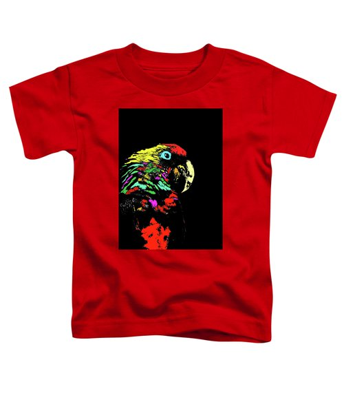 My Colorful Mccaw Toddler T-Shirt