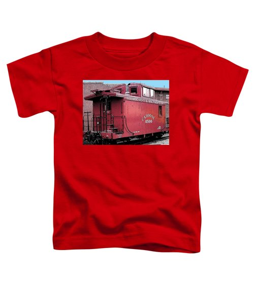 My Little Red Caboose Toddler T-Shirt