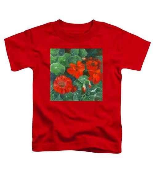 Nasturtiums Toddler T-Shirt