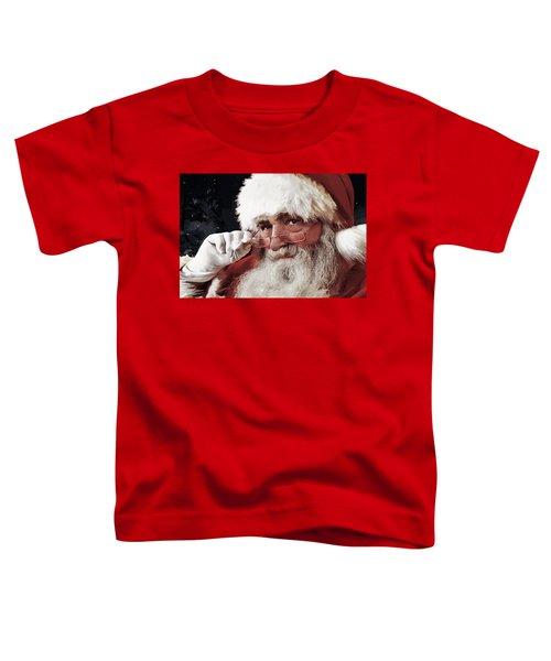 Naughty Or Nice Toddler T-Shirt