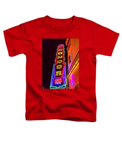 Neon Condor San Francisco Toddler T-Shirt