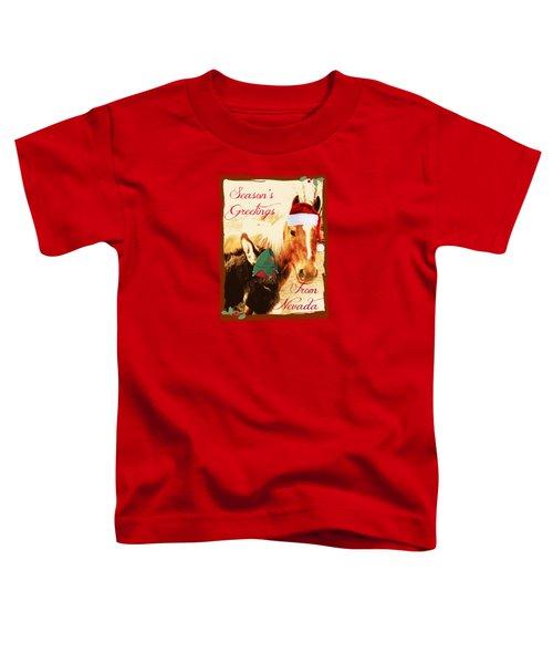 Nevada Greetings Toddler T-Shirt by Bobbee Rickard