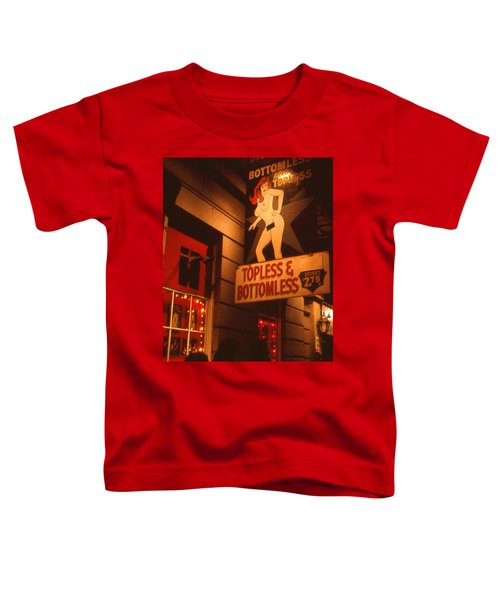 New Orleans Topless Bottomless Sexy Toddler T-Shirt