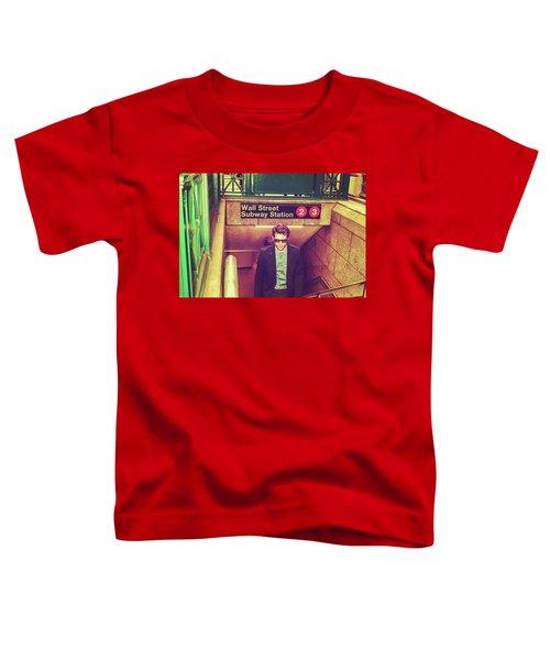New York Subway Station Toddler T-Shirt