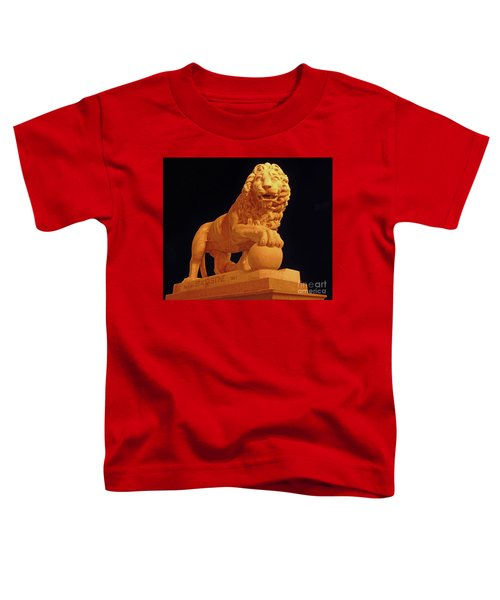 Night Of The Lion Toddler T-Shirt