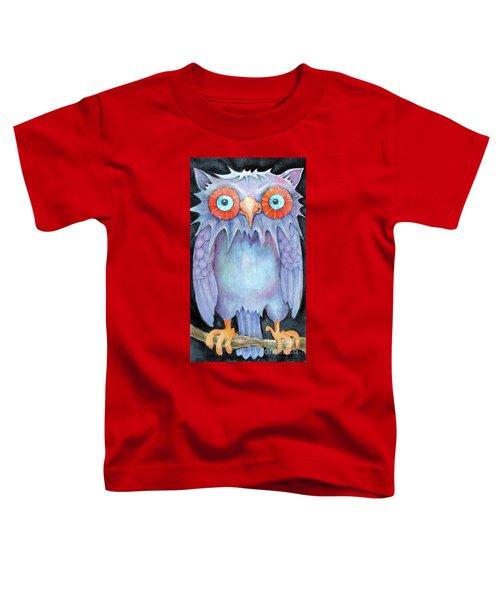 Night Owl Toddler T-Shirt